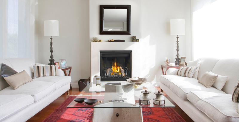 most fireplaces are installed and running in 1 day and the next day